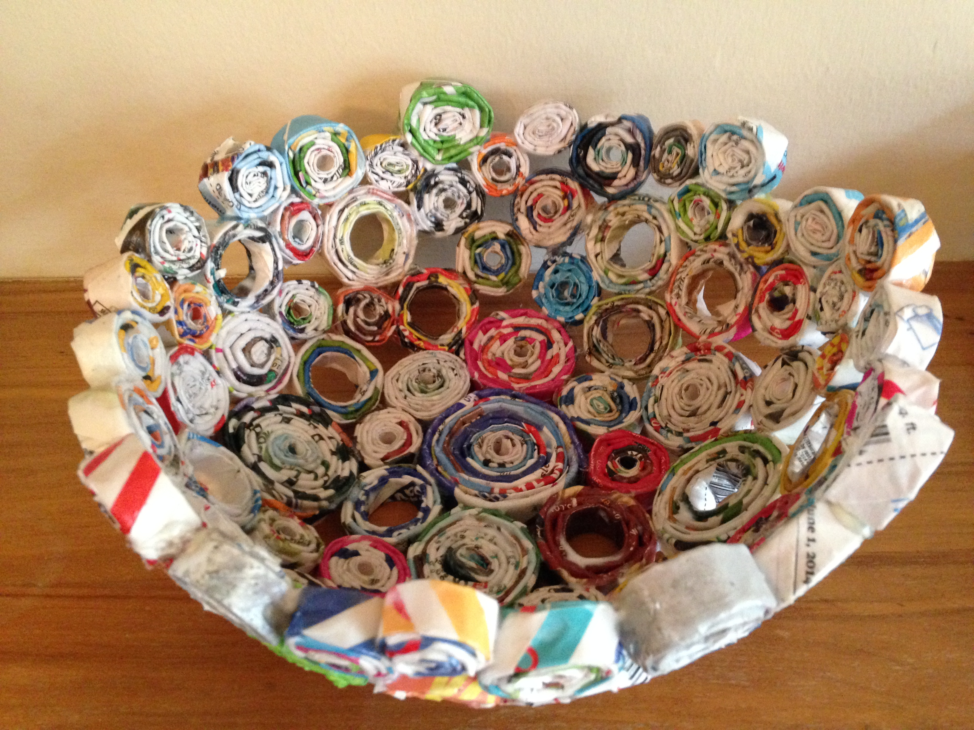 Uncategorized debbie arts crafts for Images of decorative items made from waste material